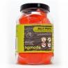<b>Komodo Jelly Pot Strawberry Jar - pokarm truskawka w żelu 60szt.</b><br /><br /><p><span>Komodo Jelly Pots to wygodny sposób na zapewnienie stałego dostępu do świeżej żywności dla gadów i owadów.</span><br /><span>Produkt w formie żelu zachowuje swoje właściwości przez długi czas, dostarczając zwierzętom niezbędnych witamin oraz pożywienia. Jelly Pot\'s posiadają różne smaki nektarów i owoców, aby urozmaicić dietę oraz dopasować wybrany smak oraz suplement diety dla konkretnego gatunku hodowanego pupila.</span></p>