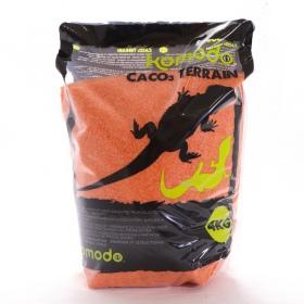 <b>Komodo CaCo3 Sand Orange - jadalny piasek dla gadów</b><br /><br /><p>Komodo CaCo3 Sand to jedyny jadalny piasek obecnie dostępny na rynku. Przeznaczony do hodowli gadów z terenów pustynnych, nie stanowi żadnego zagrożenia w przypadku połknięcia, gdyż jest w 100% naturalnym węglanem wapnia.</p>
