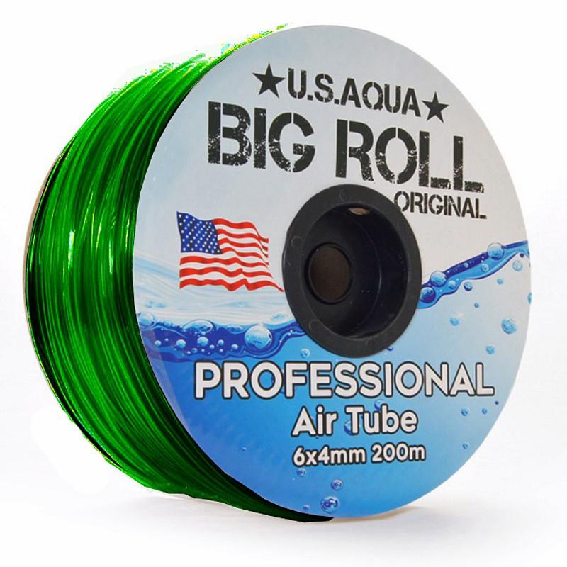 U.S.Aqua Airline Green - wężyk 6mm 1mb