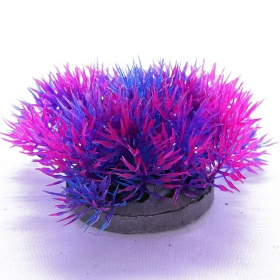 Yusee Roślina - Color Grass Blue / Violet wys. 4-6cm