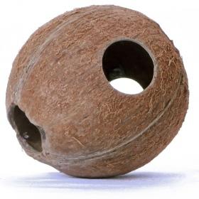<b>Terrario CocoLair  - cały kokos naturalny</b><br /><br /><p><span>Terrario CocoCavejest w pełni naturalnym i bezpiecznym wyposażeniem terrarium. Stanowi doskonałą kryjówkę / jaskinie dla wszystkich owadów, pająków, gadów i gryzoni. Produkt jest odporny na wysokie temperatury oraz wilgotność. Nie posiada sztucznych barwników czy konserwantów.<br /></span></p>