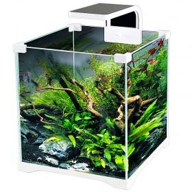 <b>SunSun O!-LED Aqua - zestaw akwarium 10l</b><br /><br /><p>Akwarium - krewetkarium O!-LED jest gotowym zestawem akwarystycznym do użycia. Stworzone jest z myślą o estetyce wykonania, aby dopasować akwarium do nowoczesnych wnętrz mieszkania. W zestawie znajduje się zgrabna podstawka, wydajny filtr i mocna lampa LED. Zestaw nadaje się dla zaawansowanych akwarystów oraz dla początkujących.</p>
