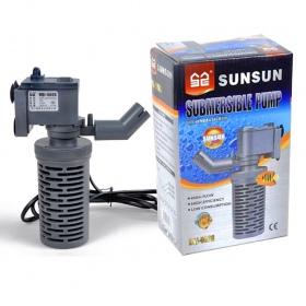 <b>SunSun EasyFilter 500 - filtr wewnętrzny 300l/h</b><br /><br /><p><span>Filtr wewnętrzny o łatwej w obsłudze konstrukcji umożliwiającejszybkie czyszczenie.Filtr standardowo wyposażony jest w gąbkę oraz spory koszyk filtracyjny. Możliwość regulacji kierunku wylotu wody oraz małe gabaryty filtra,umożliwiają jego instalacje w każdym akwarium. Filtr dedykowany do akwariów od 20l do 60l.</span></p>
