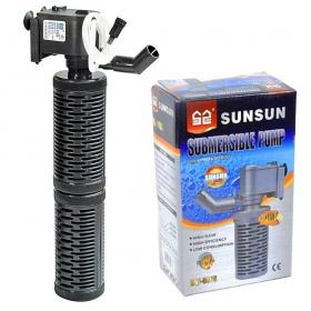<b>SunSun EasyFilter 700 - filtr wewnętrzny 700l/h</b><br /><br /><p><span>Filtr wewnętrzny modułowy o łatwej w obsłudze konstrukcji umożliwiającejszybkie czyszczenie.Filtr standardowo wyposażony jest w dwie gąbki oraz dwa spore koszykifiltracyjne. Możliwość regulacji kierunku wylotu wody oraz modułowa dwu-częściowa budowa filtra,umożliwiają jego instalacje w każdym akwarium. Filtr dedykowany do akwariów od 50l do 112l.</span></p>