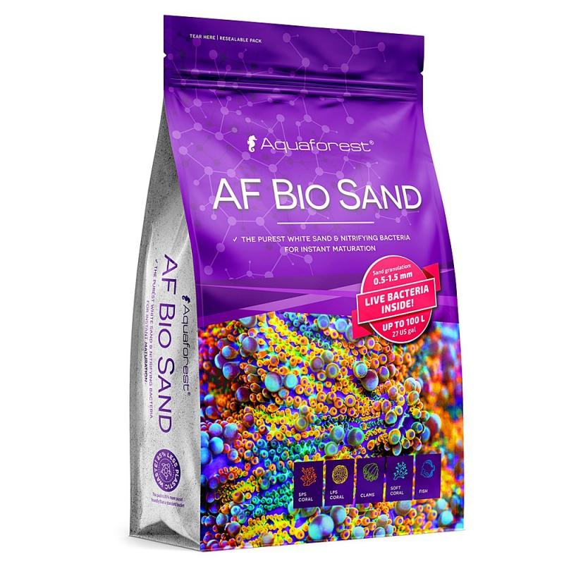 Aquaforest Bio Sand 7.5kg - żywy piasek
