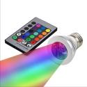 Paludarium Sunset LED 3W - żarówka kolorowa LED z pilotem