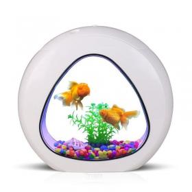 <b>SunSun Smart Aqua 4l - zestaw akwarium białe 4l</b><br /><br /><p>Kompletny zestaw akwarystyczny SunSun z serii Smart Aqua stanowi doskonałepołączenie wysokiej jakości akcesoriów z niezwykłą estetyką.Akwarium posiada proste i przemyślane rozwiązania, dzięki którym z pełną obsługą i pielęgnacją zbiornika poradzą sobie nawet najmłodsi akwaryści, którzy dopiero zaczynają swą przygodę z wodnym światem.</p>