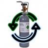 <b>Napełnienie butli 2l - usługa wysyłkowa</b><br /><br /><p>Nie możesz się ruszyć z domu, a gaz w butli CO2 się skończył? Od teraz to żaden kłopot! Możesz uzupełnić swoją butlę zdalnie. Wykup uzupełnienie z tej oferty, a prześlemy Ci pełną butlę. Kurier doręczający paczkę, odbierze pustą butlę. Więcej szczegółów poniżej.</p>