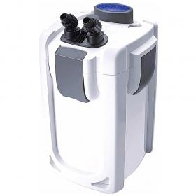 <b>SunSun Health Water 3 - filtr kubełkowy 1400l/h</b><br /><br /><p>Health Water to nowa linia popularnych filtrów kubełkowych z serii HW. Znacząco poprawiona została konstrukcja obudowy i pokrywy filtra oraz wykorzystano pompę o mniejszym poborze prądu w porównaniu do tradycyjnego filtra HW. Filtr wyróżnia się doskonałą jakością wykonania, długowiecznością oraz zadziwiająco dużą pojemnością, a zatem świetną filtracją. W zestawie komplet węży, wlotów i wylotów.</p>
