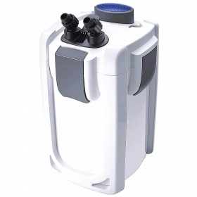 <b>SunSun Health Water 4 - filtr kubełkowy 2000l/h</b><br /><br /><p>Health Water to nowa linia popularnych filtrów kubełkowych z serii HW. Znacząco poprawiona została konstrukcja obudowy i pokrywy filtra oraz wykorzystano pompę o mniejszym poborze prądu w porównaniu do tradycyjnego filtra HW. Filtr wyróżnia się doskonałą jakością wykonania, długowiecznością oraz zadziwiająco dużą pojemnością, a zatem świetną filtracją. W zestawie komplet węży, wlotów i wylotów.</p>