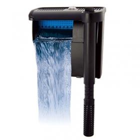 <b>Resun Streamax 550 - filtr kaskadowy do akwarium 76 - 114l</b><br /><br /><p>Seria filtrów SMX Streamax marki REsun aqua Syncro zapewnia trzystopniową filtrację wody.<br />Posiada szereg udogodnień, ułatwiających obsługę filtra, takich jak wymienne wkładki filtrujące - kartridże, które można dokupić w razie potrzeby oraz system informujący o zużyciu się wkładek filtrujących. Filtr posiada płynną regulację wydajności.</p>