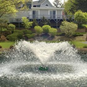 SunSun / Grech Explosion Fountain Aerator - pływająca fontanna napowietrzająca