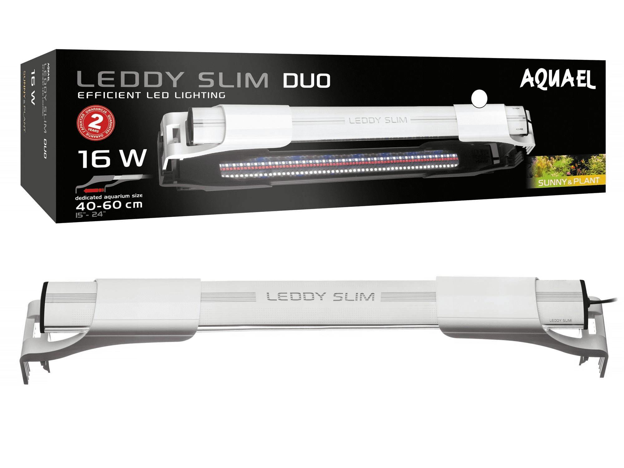 Aquael Leddy Slim 16W Duo Sunny&Plant