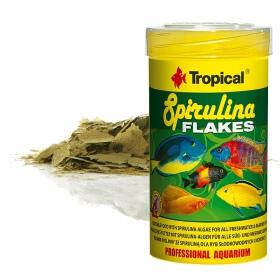 Tropical Spirulina Flakes 100ml - pokarm w płatkach