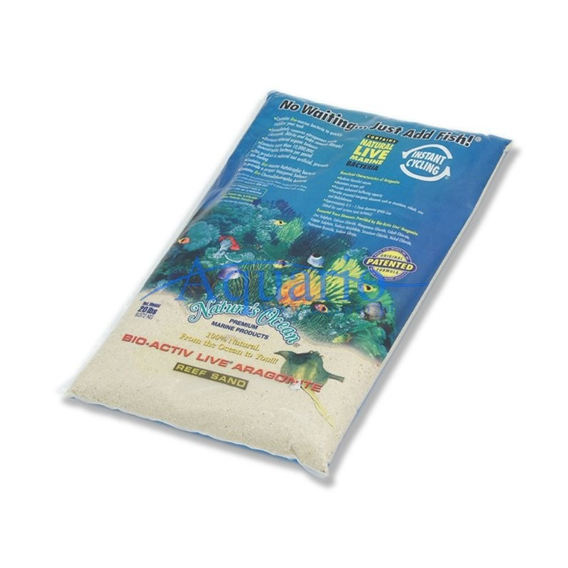 Żywy Piasek Bio-Active Live Aragonite White 9kg